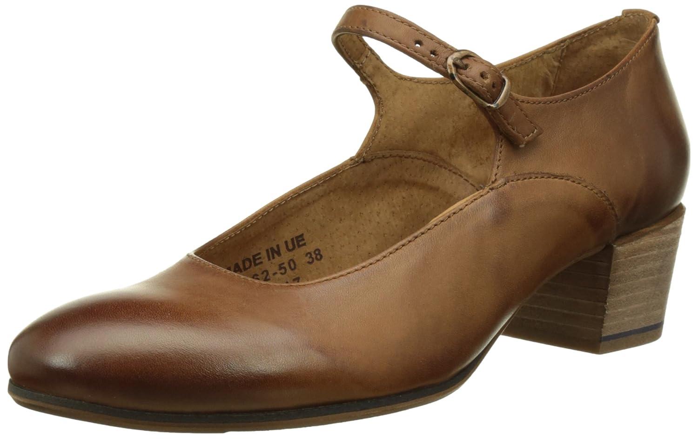 Kickers Frenchie, Zapatos de Tacón con Punta Cerrada para Mujer 38 EU|Marrón (Camel 114)