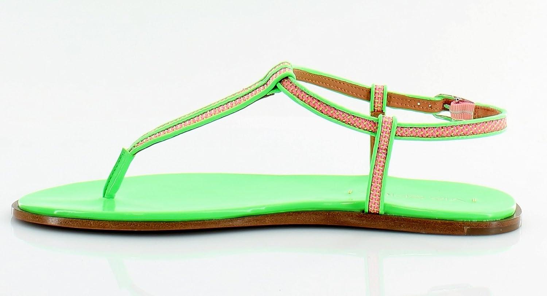 Via Spiga Cynna Women US 8 Green Thong Sandal