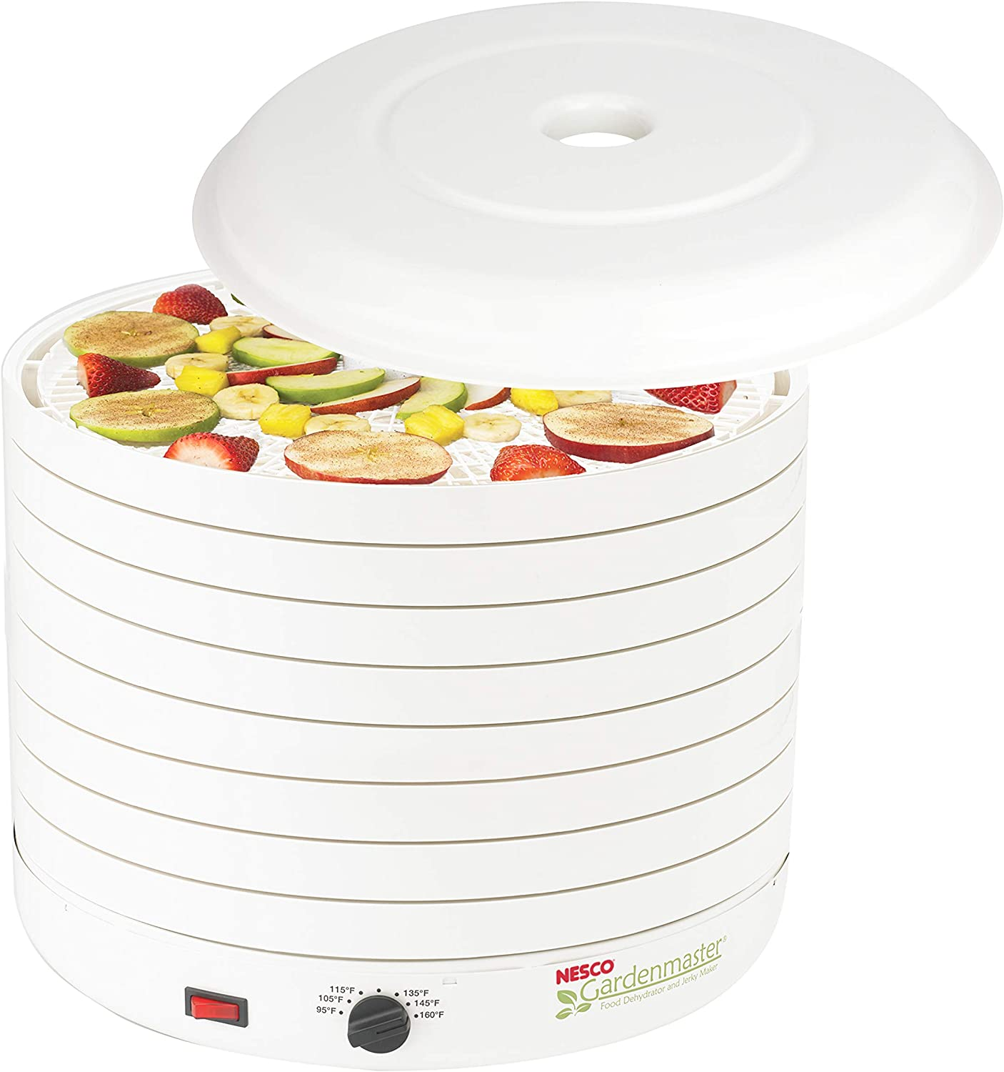 NESCO FD-1018A, Gardenmaster Food Dehydrator, White, 1000 Watts