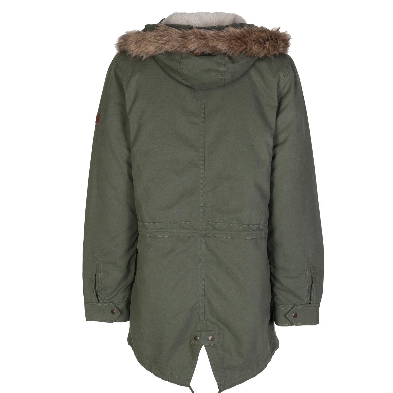 adidas - Abrigo - Parka - para hombre Verde caqui Large: Amazon.es: Ropa y accesorios