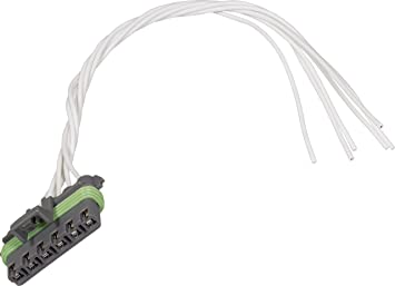 Amazon.com: APDTY 756653 Wiring Harness Pigtail Connector 6-Wire ... steering wheel radio controls wiring diagram Amazon.com
