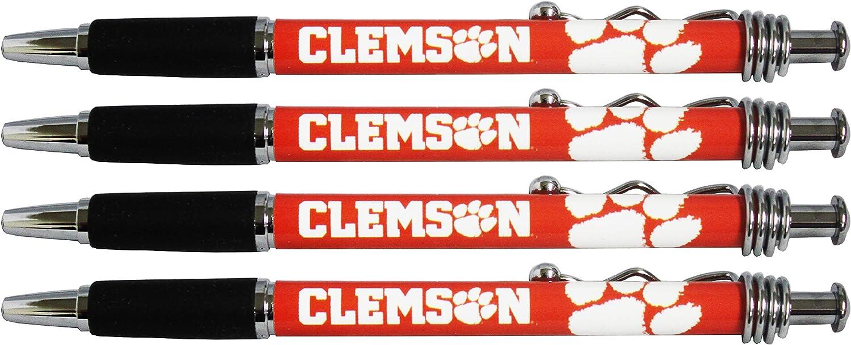 Clemson Tigers Jazzy Pen 4pk (20)