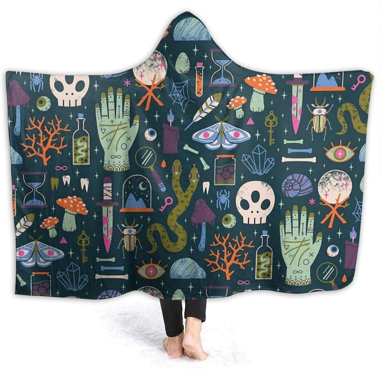 maichengxuan Manta con Capucha 3D Curiosities Super Soft Sherpa Fleece Blanket 80