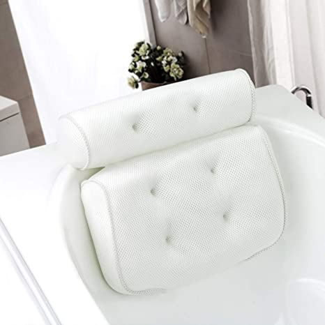 Amazon.com: Samincom - Almohada de baño para bañera de ...