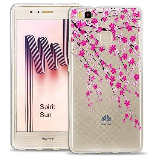 16 opinioni per SpiritSun Custodia TPU silicone Trasparente Case per Huawei P9 Lite Ultra