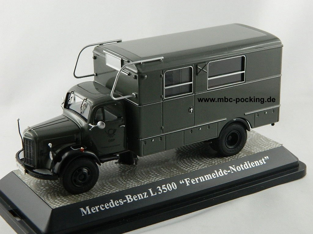 Premium ClassiXXs 12402 12402 ClassiXXs Mercedes Benz L 3500 Fernmeldenotdienst 1b0fc6
