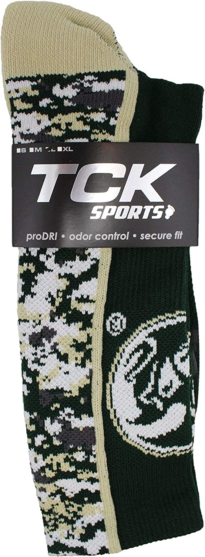TCK CSU Rams Socks Digital Camo Crew