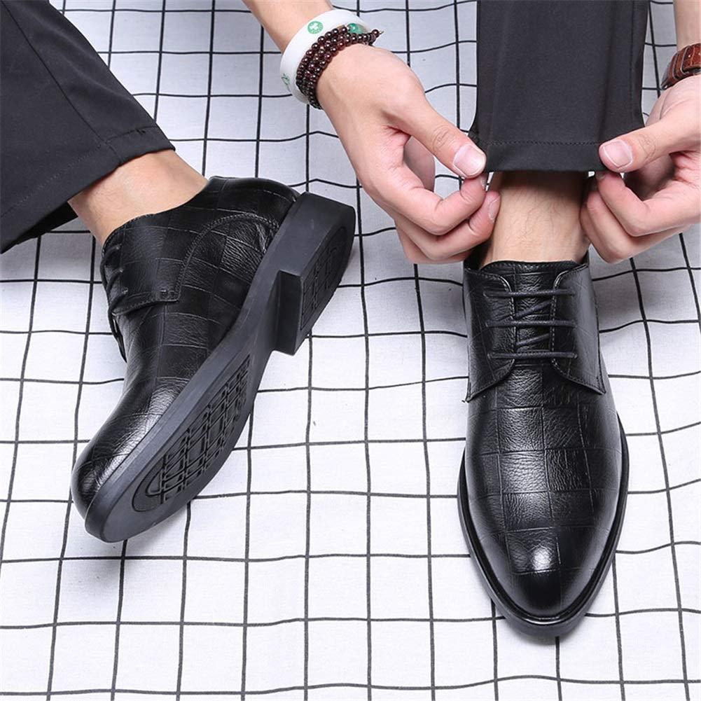Herren Schuhe Herbst/Winter Leder/Formale Schuhe 2018 Frühling Herbst/Winter Schuhe Komfort/Lederschuhe Oxfords Schwarz/Braun Office Business Schuhe Ein bb9b8c