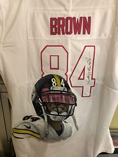 2cf9eb3a7 Antonio Brown Pittsburgh Steelers Autographed Signed Jersey Memorabilia -  JSA Authentic