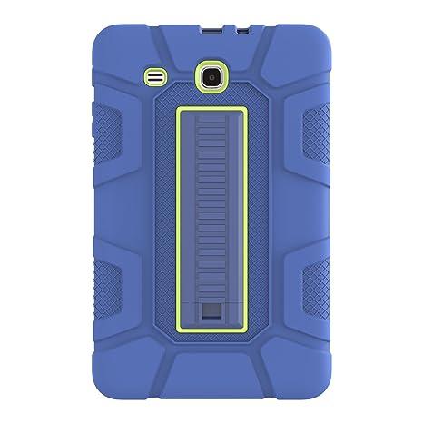 80c12e225 TianTa Funda Galaxy Tab E 9.6 Híbrido Tres Capas PC + Silicona Funda  Carcasa a Prueba