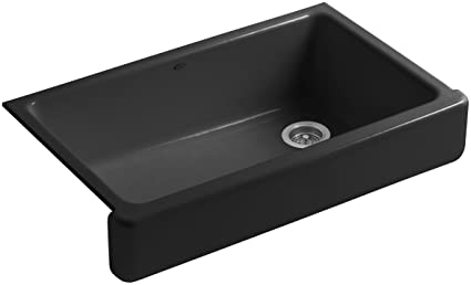 KOHLER K 6488 7 Whitehaven Self Trimming Apron Front Single Basin Sink With