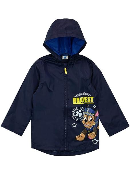 2763c09dbe01 Paw Patrol Boys Chase Raincoat  Amazon.co.uk  Clothing