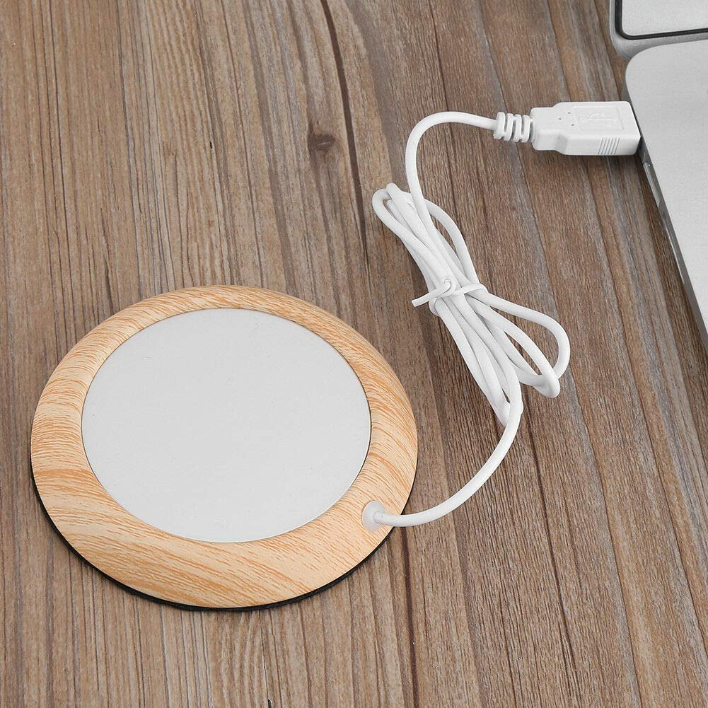 Amazon.com: Creative USB Wood Grain Heat Heater Milk Tea ...
