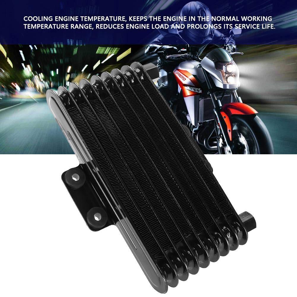 Silver Motor/ölk/ühler /Ölk/ühler Aluminium 125 ml Motor/ölk/ühler K/ühler f/ür 125CC-250CC Motorrad Dirt Bike ATV