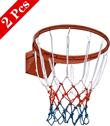 SANTOO 2 Piezas Red Canasta Baloncesto, Malla Estándard para ...