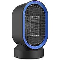 Fitfirst 600 Watt Ceramic Space Heater, Portable Mini Desktop Heater Smart Touch Control