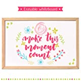 30x40cm Wooden Frame Double-sided Magnetic Dry