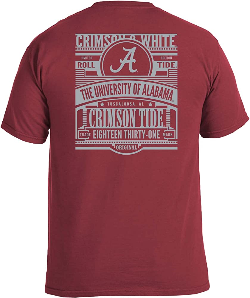 NCAA Boston College Eagles Adult NCAA Sketchbook Comfort Color Short sleeve T-Shirt X-Large,Maroon