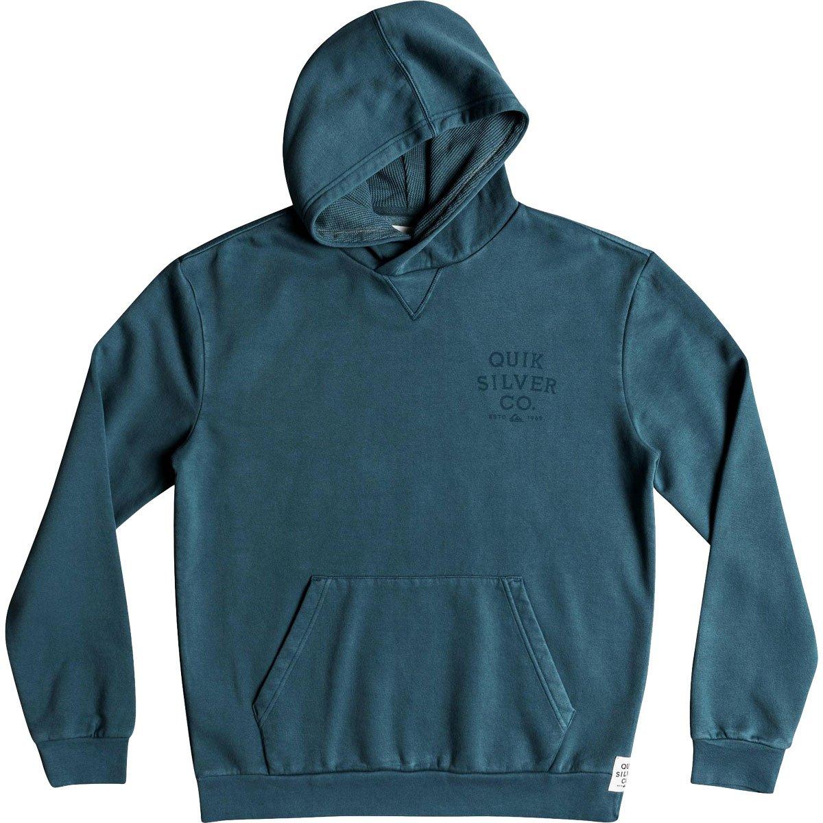 Quiksilver Men's ASO Plains Fleec Hooded Jacket, Tapestry, M