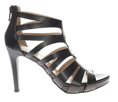 nuove immagini di moderno ed elegante nella moda negozio online Nero Giardini Sandali Tacco in Pelle Elegante Donna