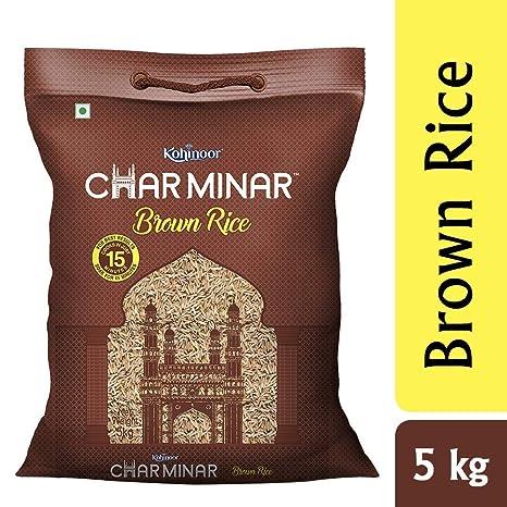 Charminar Brown Rice, 5 Kg