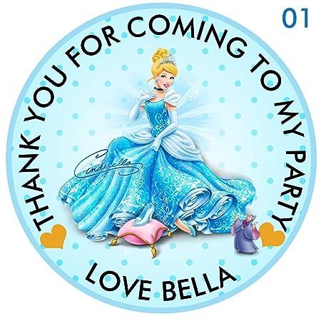 8d059640d design buddies Personalised Disney Princess Cinderella 50mm 2