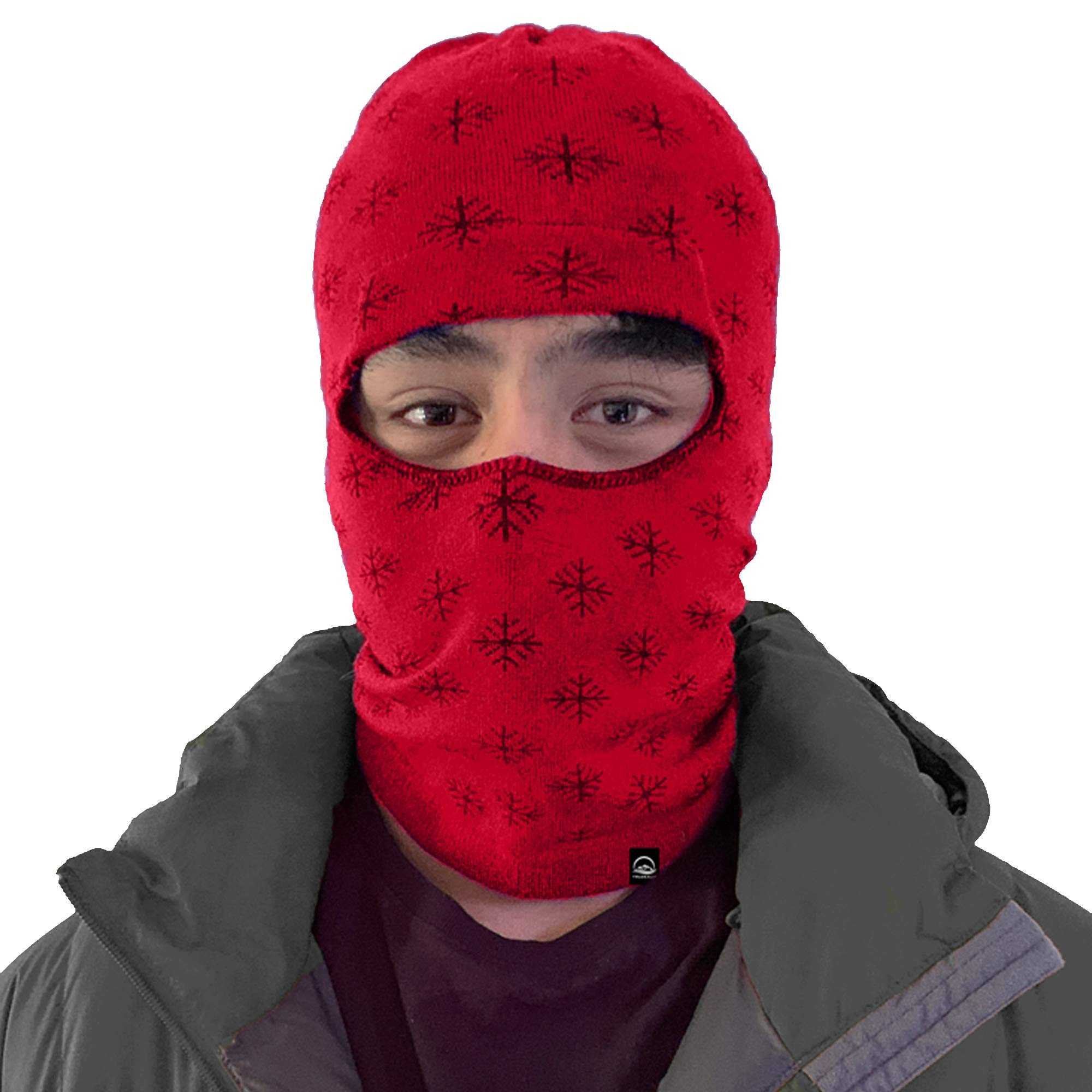 Balaclava Outdoor Wear Hat Cap Unisex New Zealand Made Merino Wool Luxurious Warmth and Soft with a Light Weight Stretchy Face Mask Stylish Unique Moisture Wicking with Thermal Properties Purple by Truzealia (Image #8)
