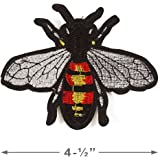 058ea9d30 Amazon.com: Bee Patch Wasp Patch Gucci Patch Embroidery Patch Extra ...