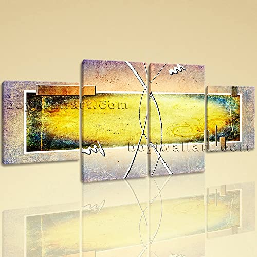 Amazon.com: Large Contemporary Abstract Painting Wall Art Decor ...