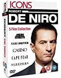 Robert De Niro - Mean Streets / Taxi Drive / Casino / Cape Fear / Sleepers [DVD]