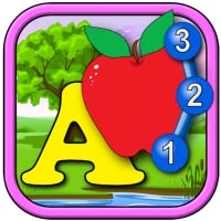 Kids ABC and Counting Join and Connect the Dot Puzzle game - learn the alphabet...