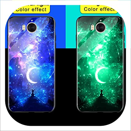 Amazon com: Luminous Phone Cases for Huawei Y5 Y6 Y9 2018