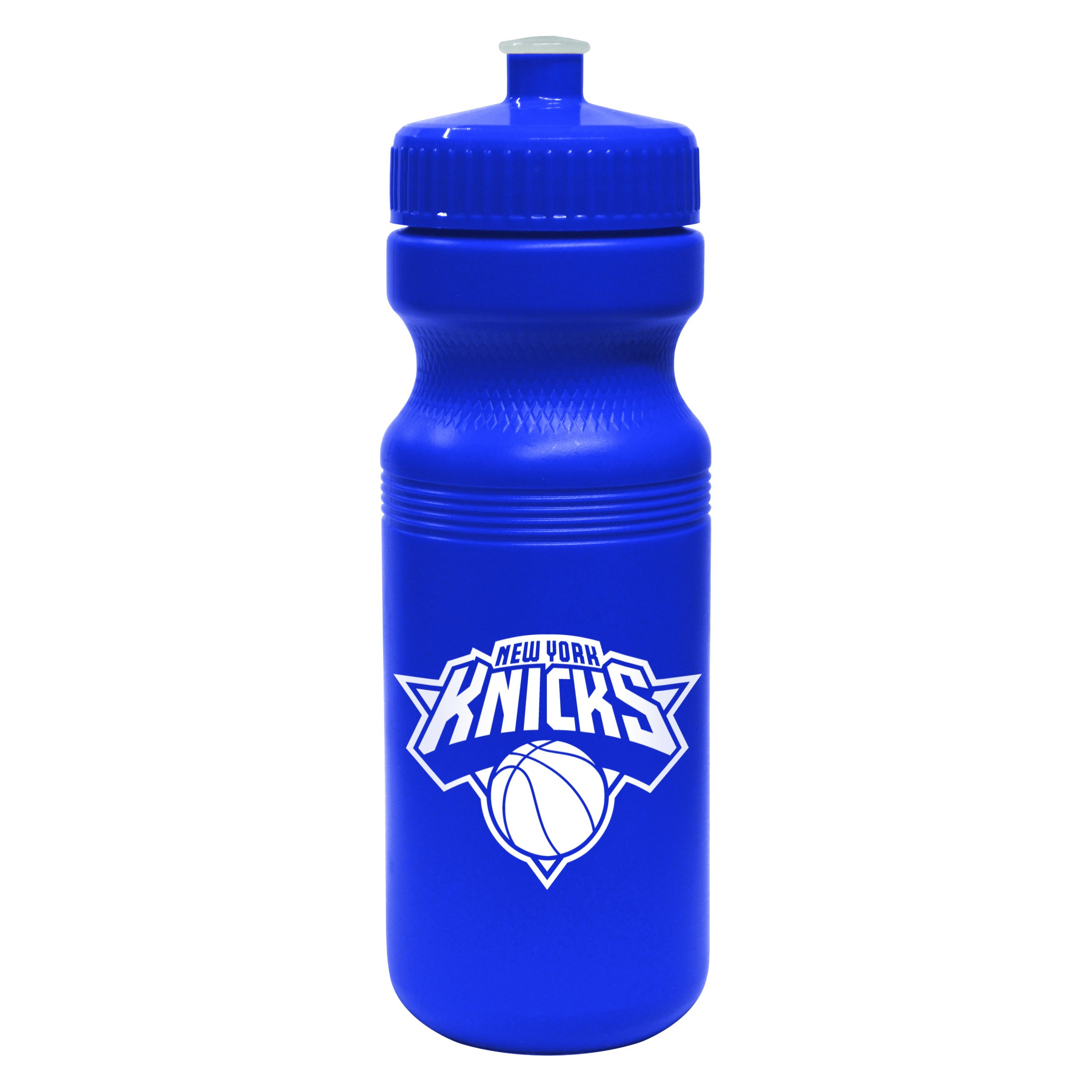 NBA New York Knicks Opaque Squeeze Water Bottle, 24-ounce by Boelter Brands