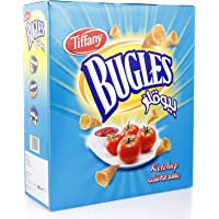 Tiffany Bugles Ketchup Chips, 12 x 25 gm