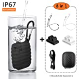 Compatible Airpods Case Waterpoof, Airpods Accessories Set, 8 in 1 Protective Silicone Cover and Skin Compatible Apple Airpods with 2 Anti-Lost Airpods Strap, 2 Airpods Watch Band Holder by OUYZY