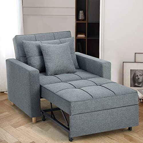 Esright Convertible Chair Bed 3-in-1 - a good cheap living room sofa