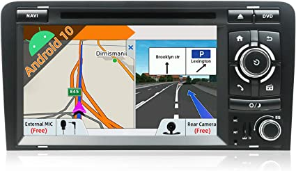 Android 9.0 Autoradio Navigatore Audio per AUDI A3 2003--2011