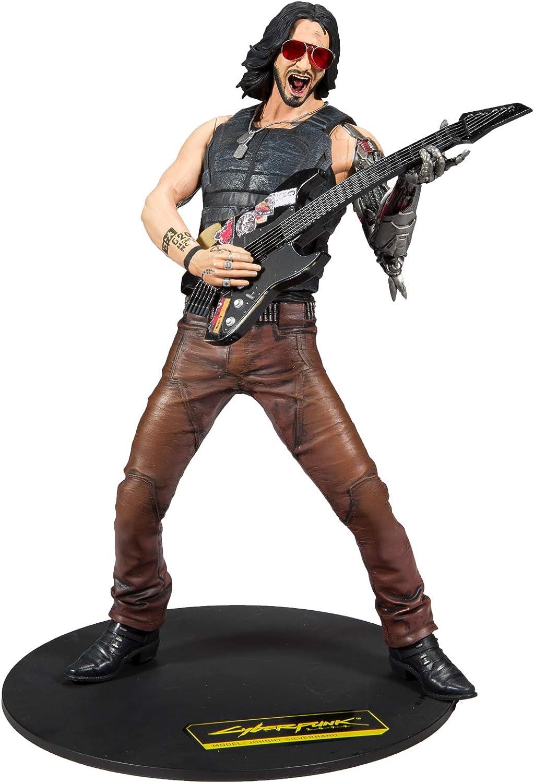Figura Johnny Silverhand 30 cm, Cyberpunk 2077, McFarlane Toys