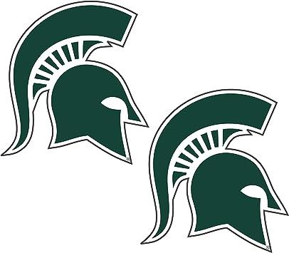 6 Craftique NCAA Michigan State Spartans Premium Vinyl Decal