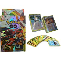 Pokemon Trading Card Game (Poke'mon Go Pack of 100 Cards Set _Gold Cards)