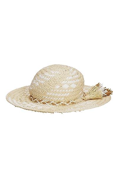 next Niñas Sombrero De Paja con Borlas (Niña Mayor)