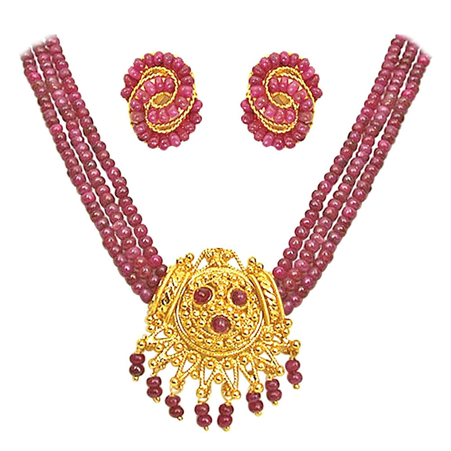 india heart crimson eton premium zarood from quality of fashion products the necklace