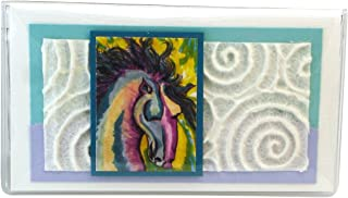 product image for Painted Horse Checkbook Cover Made in the USA
