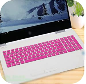 Laptop Keyboard Cover Protector for Hp Envy X360 15-Cn0006Tx Cn0007Tx 15-Cn0008Tx Cn0007Na Cn0009X 15-Cn Series Cn1000Ne 15.6''-Rose-