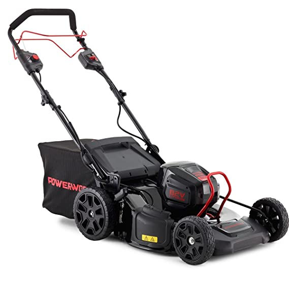 PowerWorks P-82RM51S - Cortacésped con batería RM51S 3-IN-1 (82 V ...
