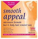 Smooth Appeal 125 g Microwave Formula Body Hair Remover Wax