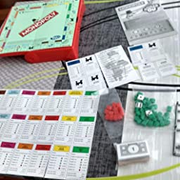 Hasbro Gaming Monopoly versión portuguésa (B1002190): Amazon.es: Juguetes y juegos