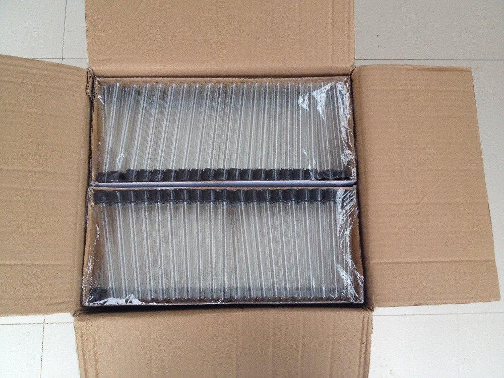 Vite top provetta vetro Sierologiche filettato tubo 16/x 150/MM 19/ml con tappo a vite con rivestimento in gomma siliconica Autoclavabile tutte le dimensioni disponibili in store-pack10