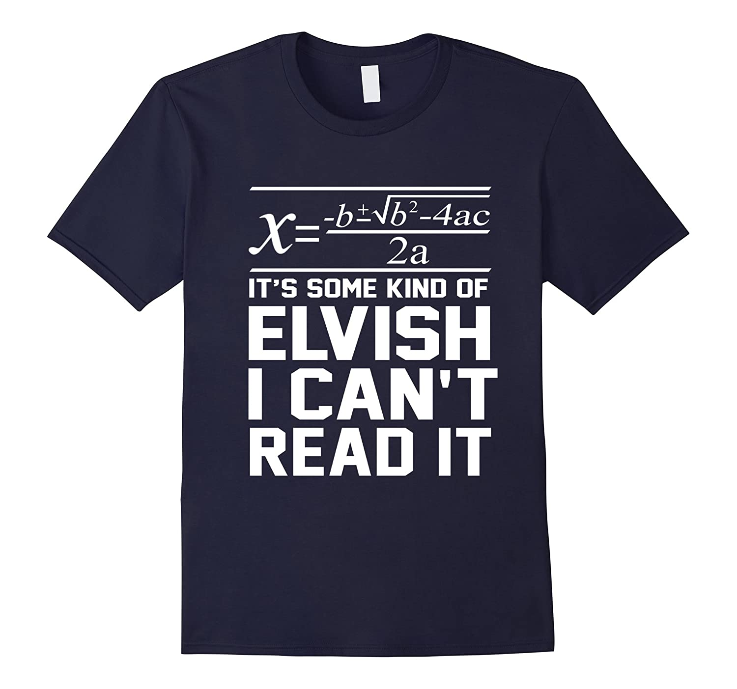 Back to school - It's some kind of ELVISH I Can't Read It-Art