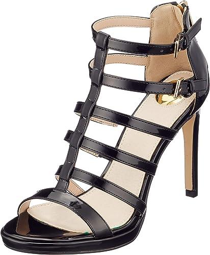 Buffalo Femmes Sandale Sandale Noir